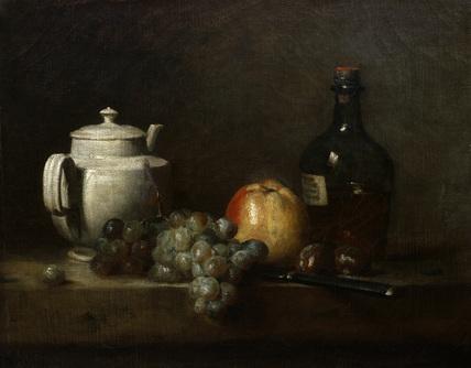 Chardin - White Teapot