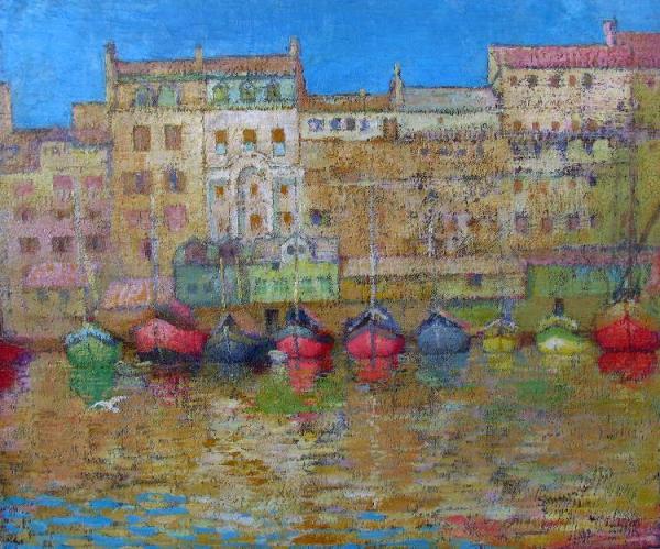 Floating Market - Spalato 1916 - 24050 - from AskArt