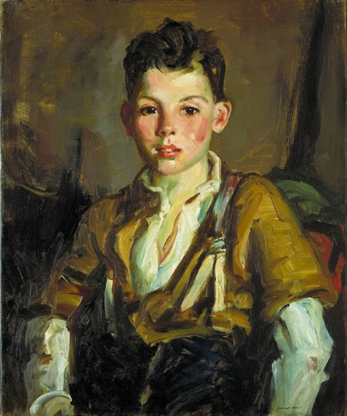 Robert Henri - The Fisherman's Son, Thomas Cafferty 1925
