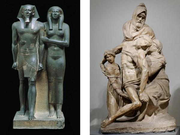 Egpytian sculpture - Michelangelo