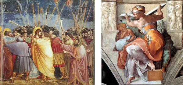 Giotto - Michelangelo