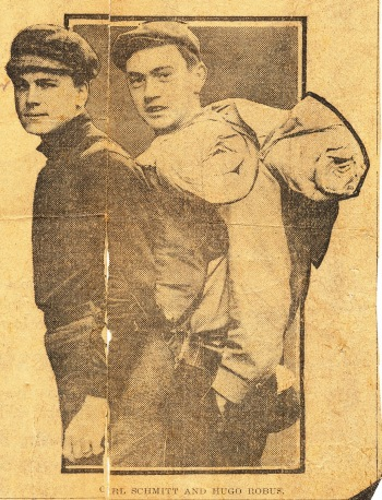 1909-5-12 Philadephia Evening Times (Schmitt and Robus) - CROPPED