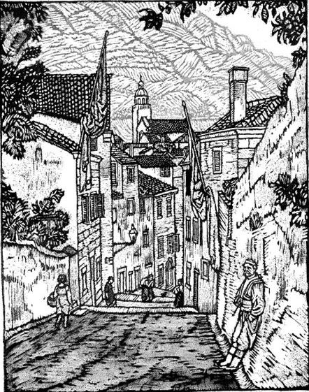 Carl Schmitt - One of the Streets - from Scribners magazine