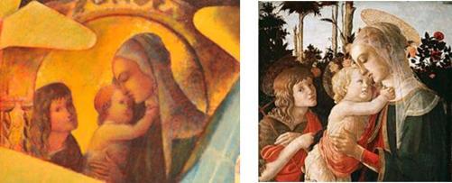 Anno Domini 1941 detail and Botticelli