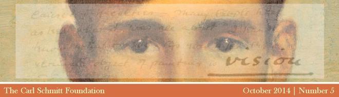 Vision Enewsletter cover October 2014