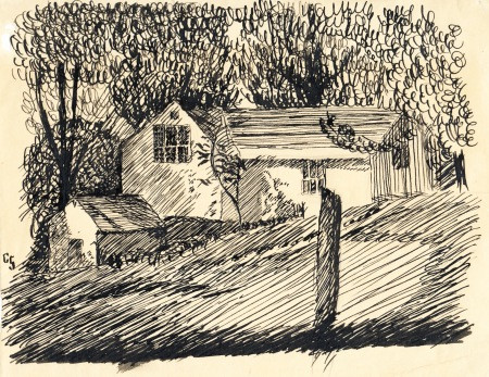 30 Borglum Rd pen and ink sketch - CROPPED