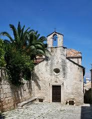 Chapel - Korcula - contemporary photograph - CROPPED