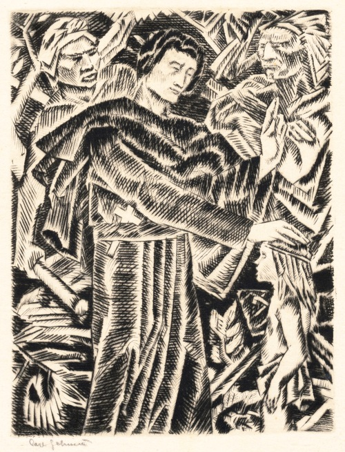 St Isaac Jogues - etching - CROPPED