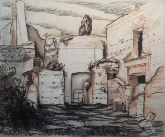 Roman ruins - from studio portfolio