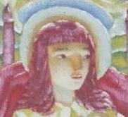 CSF12009 - detail of Madonna's face