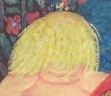 CSF12311 - detail of angel's head