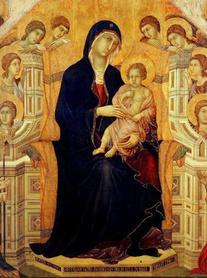 Duccio Maesta detail