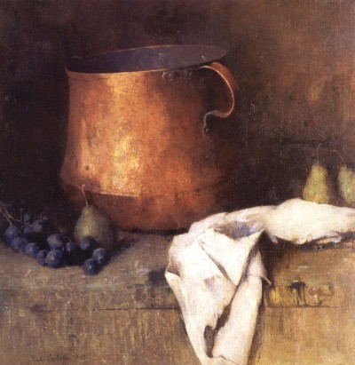 Emil Carlsen - The Copper Pot