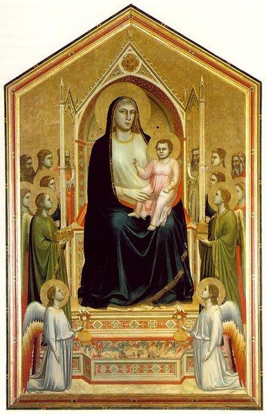 Giotto Ognissanti Madonna