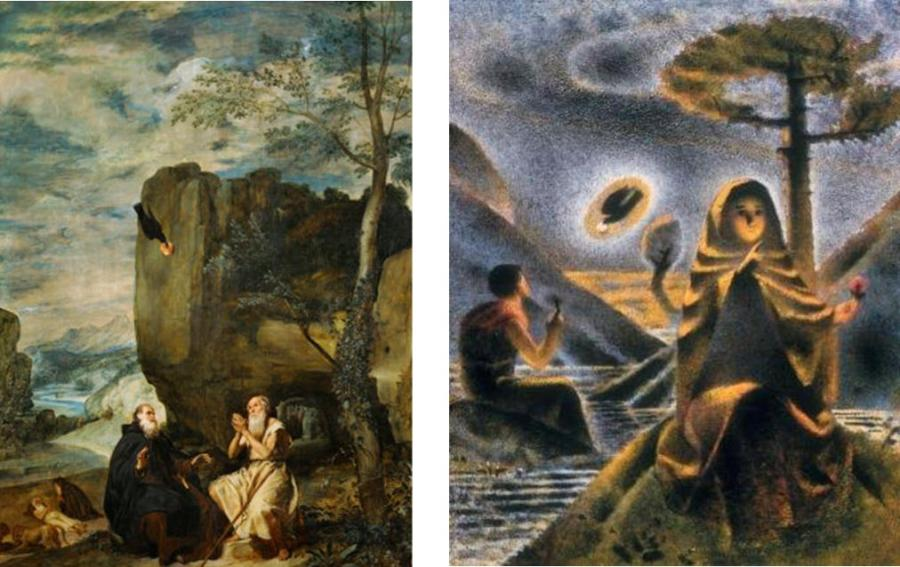 Velasquez - Schmitt St Paul the Hermit