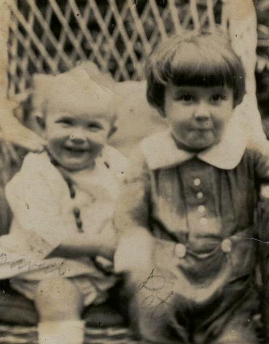David and Peter as young children