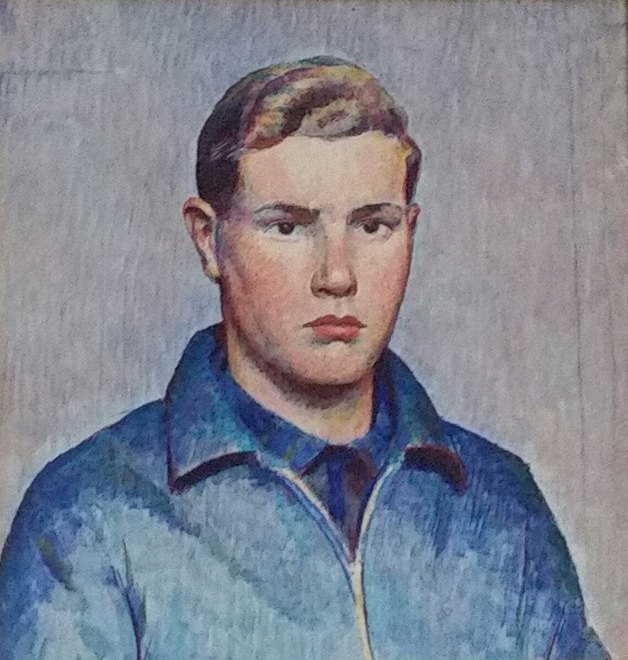 David Schmitt portrait by Carl Schmitt