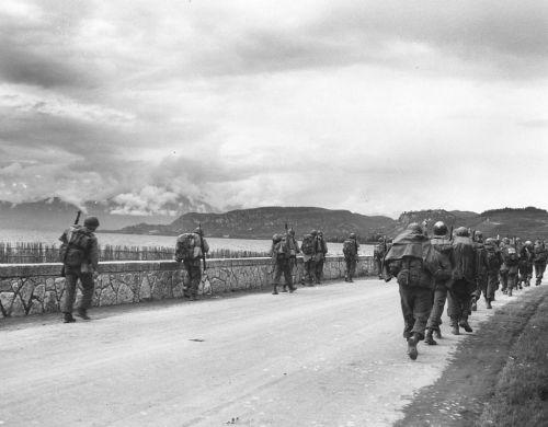 10th Mountain division at Lake Garda